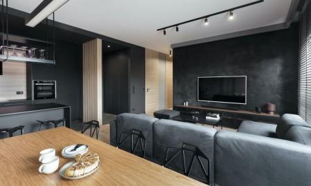 Pencil black apartament